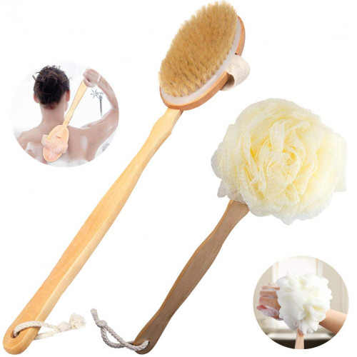 Snagshout Body Brush Brush Bath For Wet Or Dry Brushing 100