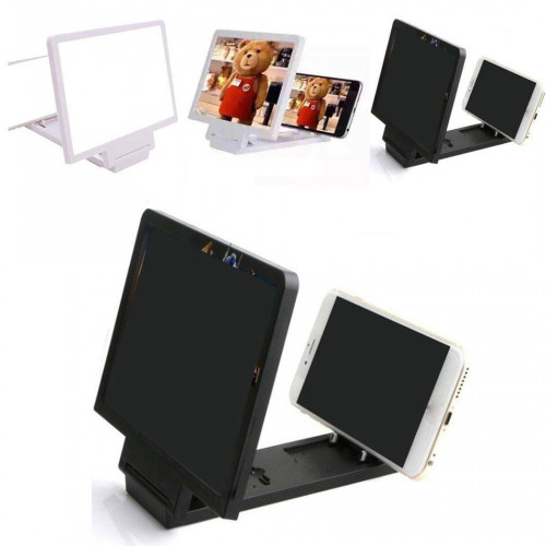 Adoeve Portable Radiation Protection Mobile Phone Screen Magnifier Bracket Stands