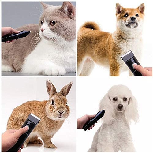 Snagshout | FREGENBO Dog Clippers for Grooming, Dog Grooming Clippers kit with 2 Pack Blades, Low Noise Pet Hair Clippers USB Rechargeable Cordless Professional Pet Grooming Kit with LED Display