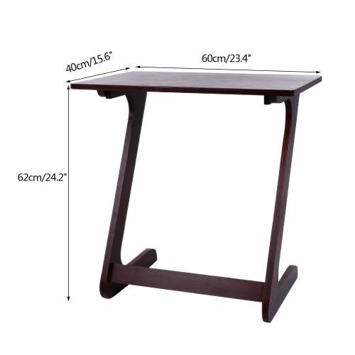 Super Portable Snack Table Folding Sofa Table Tv Tray Laptop Desk Adjustable Wood End Tables For Living Room Us Stock Short Links Chair Design For Home Short Linksinfo