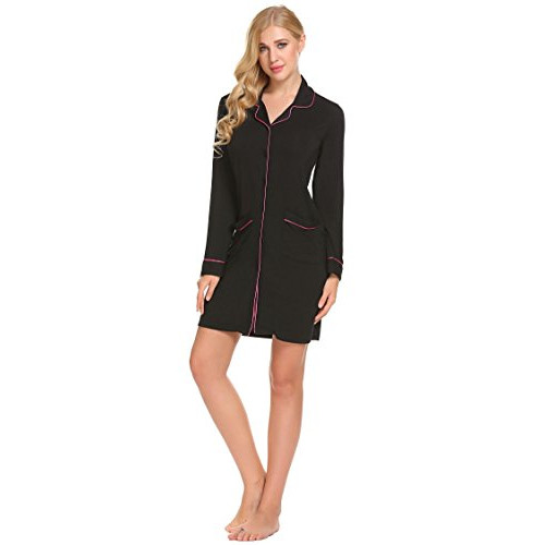 c835ede660 Imposes Women s Long Sleeve Sleepshirts