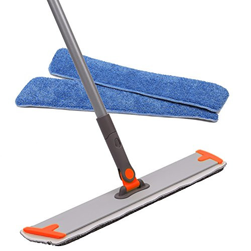 Snagshout   Professional Microfiber Mop - 3 Reusable Floor Mops Pad ...