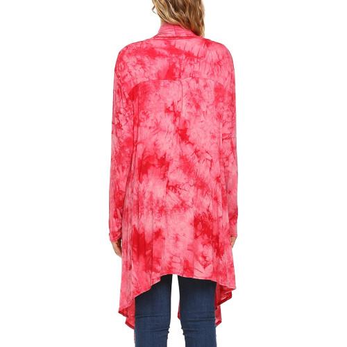 a6bfc2859e Zeagoo Womens Long Sleeve Open Front Long Maxi Cardigan Waterfall  Asymmetric Draped Duster Coat