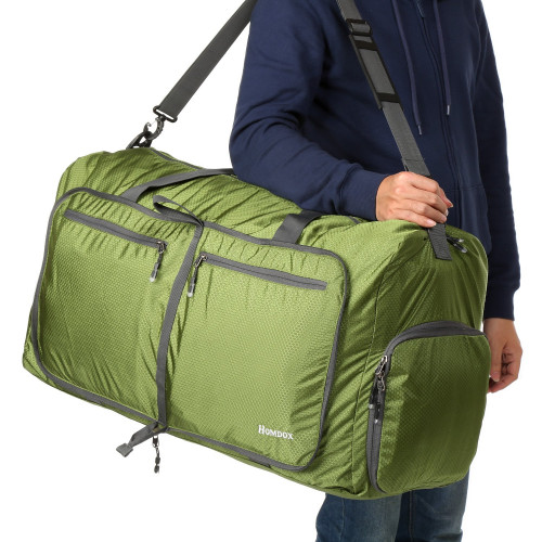 638f7bc77aaa Bluefringe 80L Duffle Bag Large Size,Foldable Lightweight Large Duffel Bag  for Camping Waterproof,Lightweigh Packable Duffle Bag Travelling Bags for  ...