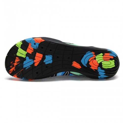 Huhuali Unisex Print Rubber Anti Slippery Breathable Water Sporting Beach Shoes Water Shoes