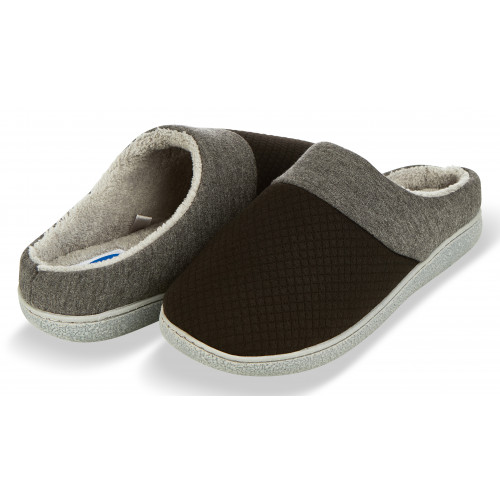 7e91f4b32 Floopi Women's Memory Foam Slippers Deluxe Clog Scuff/Mule House Slip-Ons  for Indoor & Outdoor Use| Warm & Fuzzy w/Quilted Jacquard Terry Lining, ...