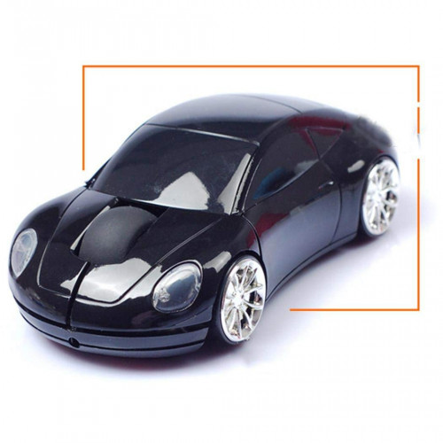 Wesoky Creative Car Shape Wireless 2.4G Laptop Computer Optical Mouse Mice