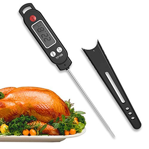 Snagshout Digital Meat Thermometer Food Cooking Bbq Thermometer