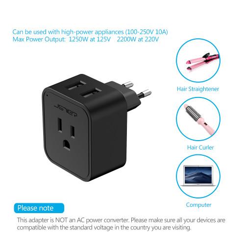 YUIOP Power Meter Outlet Energy Meter LCD Display Digital Energy Power Meter Wattage Voltage Analyzer Electricity Usage Monitor