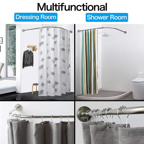 Begleri Tension Shower Curtain Rods